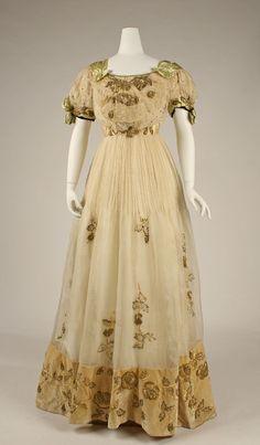 Evening Dress, ca. 1905, Austrian.