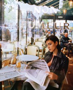 So many amazing outdoor cafes in Paris! You can linger over coffee and a croissant all darn day!