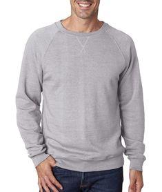 95b77ae54a74fc J America J8875 Sweatshirt Adult Tri-Blend Fleece Crew NEW #fashion # clothing #