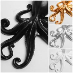 White Faux Taxidermy fans... we have some really exciting news!  The time has come! We have received many emails about it and we are proud to say that it's finally here! We have recently released our line of resin octopus wall pieces! They are available now through our website and Etsy shop:  http://www.whitefauxtaxidermy.com/sealife  Please use coupon code WFTLOVE14 and receive 10% off your order, today!