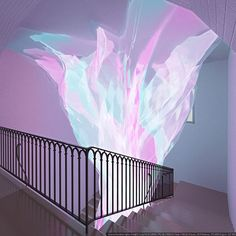 Light emitting installation designed by Solid Studio