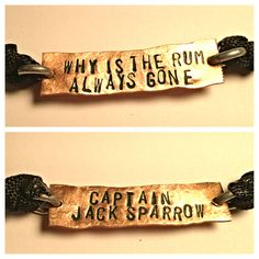 Why is the rum always gone Captain jack sparrow door Nerdiecouture, $9,99