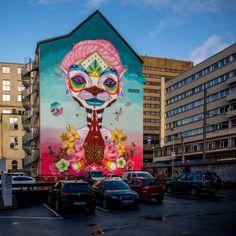 Interesting Photos, Bergen, Doors, Painting, Street, Painting Art, Paintings, Painted Canvas, Drawings