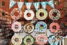 Paper Source donut display