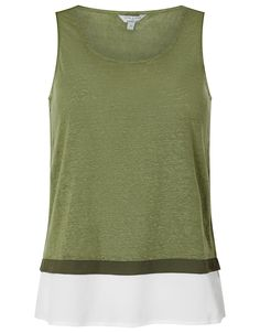 Elaine Woven Hem Sleeveless Top in Pure Linen   Green   Medium   8468529952   Monsoon Monsoon, Geometric Fashion, Perfect Party, Green, Your Style, Party Dress, Pure Products, Medium, Tops
