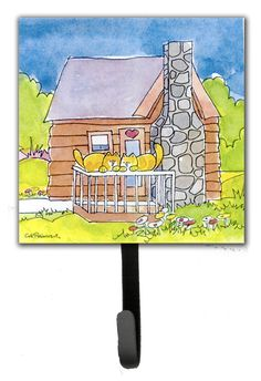 Cat Love at The Log Cabin Leash Holder and Wall Hook