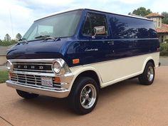 1974 Ford Van E100