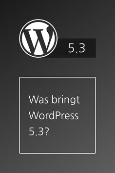 WordPress Version 5.3 soll am 12. November 2019 erscheinen. Es bringt ein neues Standard Theme, Verbesserungen für Gutenberg und viele weiterer Neuerungen. 12 November, Volkswagen Logo, Juventus Logo, Team Logo, Cover, Wordpress, Logos, Interesting Facts, Logo