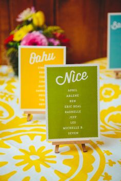 colorful + simple // photo by The Goodness // View more: http://ruffledblog.com/colorful-foresthill-wedding/