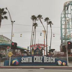 Santa Cruz CA: Today Santa Cruz  #santacruz #tour #california by i_am_sarasensi