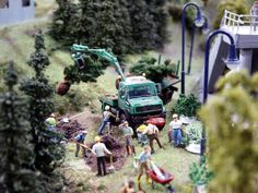 Miniaturwunderland in Hamburg, Germany is the biggest Model Railroad Layout in the world. We are proud that we had supplied them with our HO Scale Model Train Figures from http://www.modelleisenbahn-figuren.com