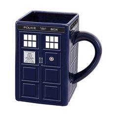 Vandor Doctor Who Tardis Ceramic Sculpted Mug