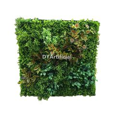 2x2m Beautifully Realistic Fake Plants Wall