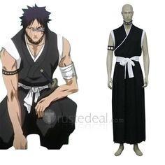 Bleach Hisagi Shuuhei Men's Cosplay Costume $57.99 - Bleach Cosplay - Trustedeal.com