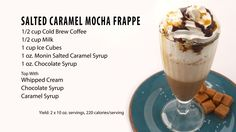 Morgan from Whole Latte Love shows you how to make an amazing Salted Caramel Mocha Frappe at home. This drink is so delicious it is a must try! Monin Syrup: ...