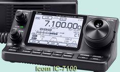 ICOM IC-7100. This is one bad a** radio.