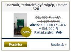 http://www.amcokft.hu/Hasznalt-terkitolto-gyartogep-Damet-320