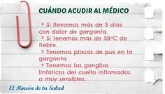Dolor de garganta. ¿Cuándo acudir al médico? #salud #própolis
