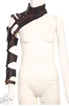Leather MonoSleeve by Red Queen http://www.verillas.com/productimage.php?product_id=482