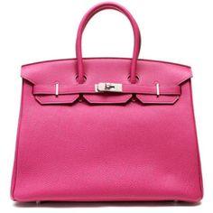 Pink Hermes birkin! Love