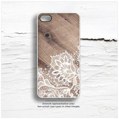 iPhone 6 Case iPhone 5 Case Wood Print Floral by HelloNutcase