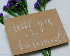 hand lettered personalized stationery set of 10 by cbrannendesign