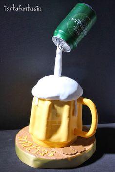 TartaFantasía: Tarta Jarra de Cerveza