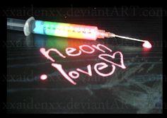 Neon Love ☻                         ⇜•ṄεΦЙ❉€яᗛƶΣ•⇝