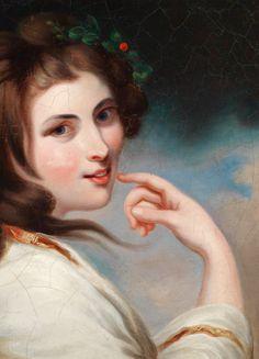 Portrait of Emma, Lady Hamilton, 18th Century. Detail. New Facebook Page, Mistress, 18th Century, Hamilton, Bond, Mona Lisa, Tumblr, Portrait, Lady