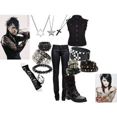 Inspired by Ashley Purdy of Black Veil Brides