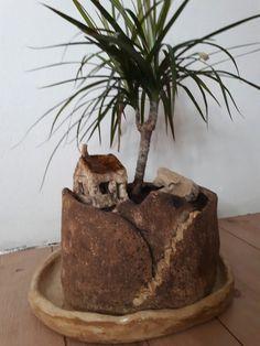 Keramika#keramický květináč#keramický domeček