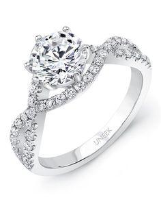 Engagement Rings :   Illustration   Description   Uneek white gold engagement ring | SWS174  | knot.ly/64908Hjms    -Read More –   - #WeddingRings https://adlmag.net/2017/12/07/engagement-rings-uneek-white-gold-engagement-ring-sws174-knot-ly-64908hjms/