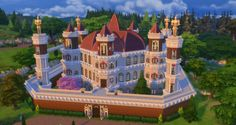 Game of Thrones Great Sept of Baelor by sim4fun at Mod The Sims via Sims 4 Updates