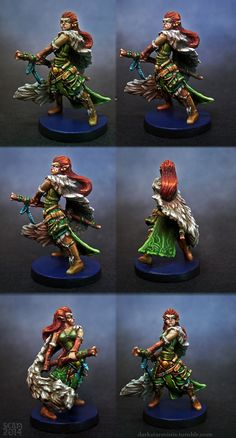 Page 1 of 3 - My Painted Descent Minis - posted in Descent: Journeys in the Dark Second Edition: Hey all, Id like to create this thread here to showcase my painted version of the minis for Descent 2nd edition as I paint them.  I think players here will get a kick out of seeing these as I finish each one and share it.   Ill keep this post updated as each figure is finished.  These miniatures are SO tiny compared to most minis that I paint, but my philosophy is that if there i...