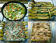 λαζάνια από κολοκύθια γεμιστά με λαχανικά   Pandespani Zucchini, Vegetables, Food, Essen, Vegetable Recipes, Meals, Yemek, Veggies, Eten