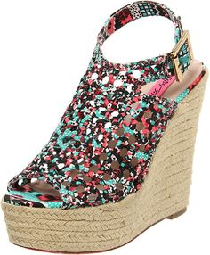 Betsey Johnson Women's Beckeyy Wedge Sandal -- You can get additional details at the image link. (This is an affiliate link and I receive a commission for the sales)