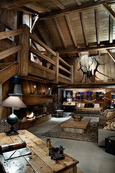pinterest.com/fra411 #wooden #house - Log Cabin  who wants to live here?