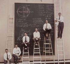 Risultati immagini per nasa people write on blackboard