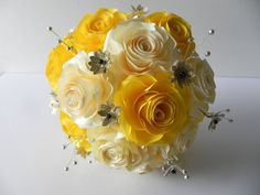 Hey, I found this really awesome Etsy listing at https://www.etsy.com/listing/201301863/wedding-bouquet-for-the-bride-in-origami