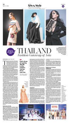 Thailand: Fashion Gateway of Asia Epoch Times #Fashion #newspaper #editorialdesign