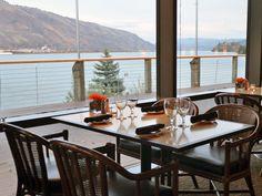 Riverside restaurant Waterside dining http://www.riversidehoodriver.com/