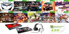 (EXPIRED) Win everything you see here! #Contest #Free #Win #Xbox #360 #Fighting #Nintendo #Atlus #Games #Giveaway #Game #Videogames