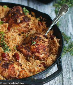 One Pot Caribbean Jerk Chicken