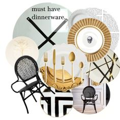 """""""Must Have Dinnerware"""" by ambervogue on Polyvore"""