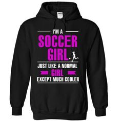 Cool soccer girl T Shirts, Hoodies. Get it here ==► https://www.sunfrog.com/LifeStyle/Cool-soccer-girl-7418-Black-7299797-Hoodie.html?57074 $39