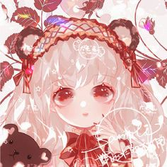 Kawaii Chibi, Kawaii Art, Kawaii Anime, Anime Neko, Manga Anime, Anime Art, Anime Girl Cute, Anime Love, Chibi Girl