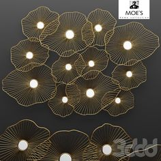 Lily Pad Wall Decor
