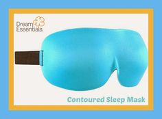 Product Review and Giveaway - Dream Essentials Contoured Sleep Mask Exp 11/16