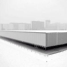 "2,775 Synes godt om, 19 kommentarer – #BRUTgroup (@brutgroup) på Instagram: ""Velodrom and olympic swimming pool, Berlin. Built in 1999 By D.Perrault.  #brutgroup photo by…"""
