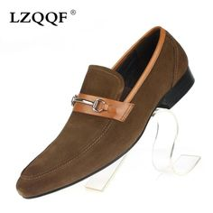 110.00$  Buy here - http://alid20.worldwells.pw/go.php?t=32621979226 - 2016 Italy designer nubuck leather men loafers top quality cowhide casual mens business shoes basic flats for wedding office